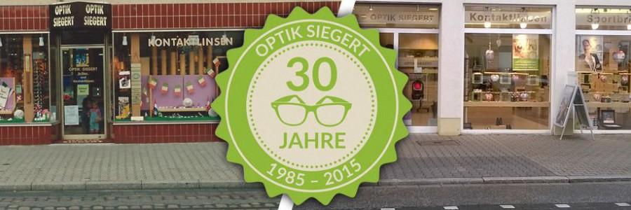 30 Jahre Optik Siegert