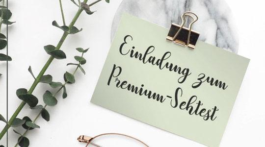 Premium-Sehtest | Entspannung für Sie und für Ihre Augen