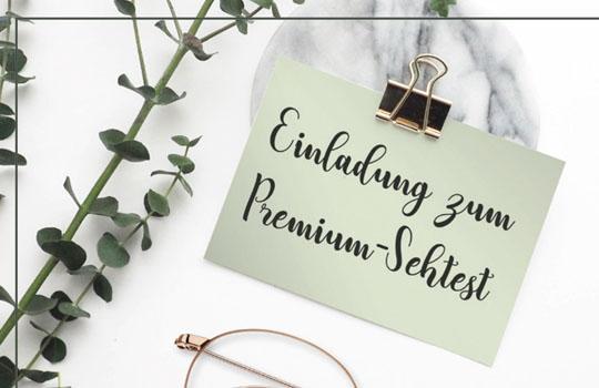 Premium-Sehtest   Entspannung für Sie und für Ihre Augen